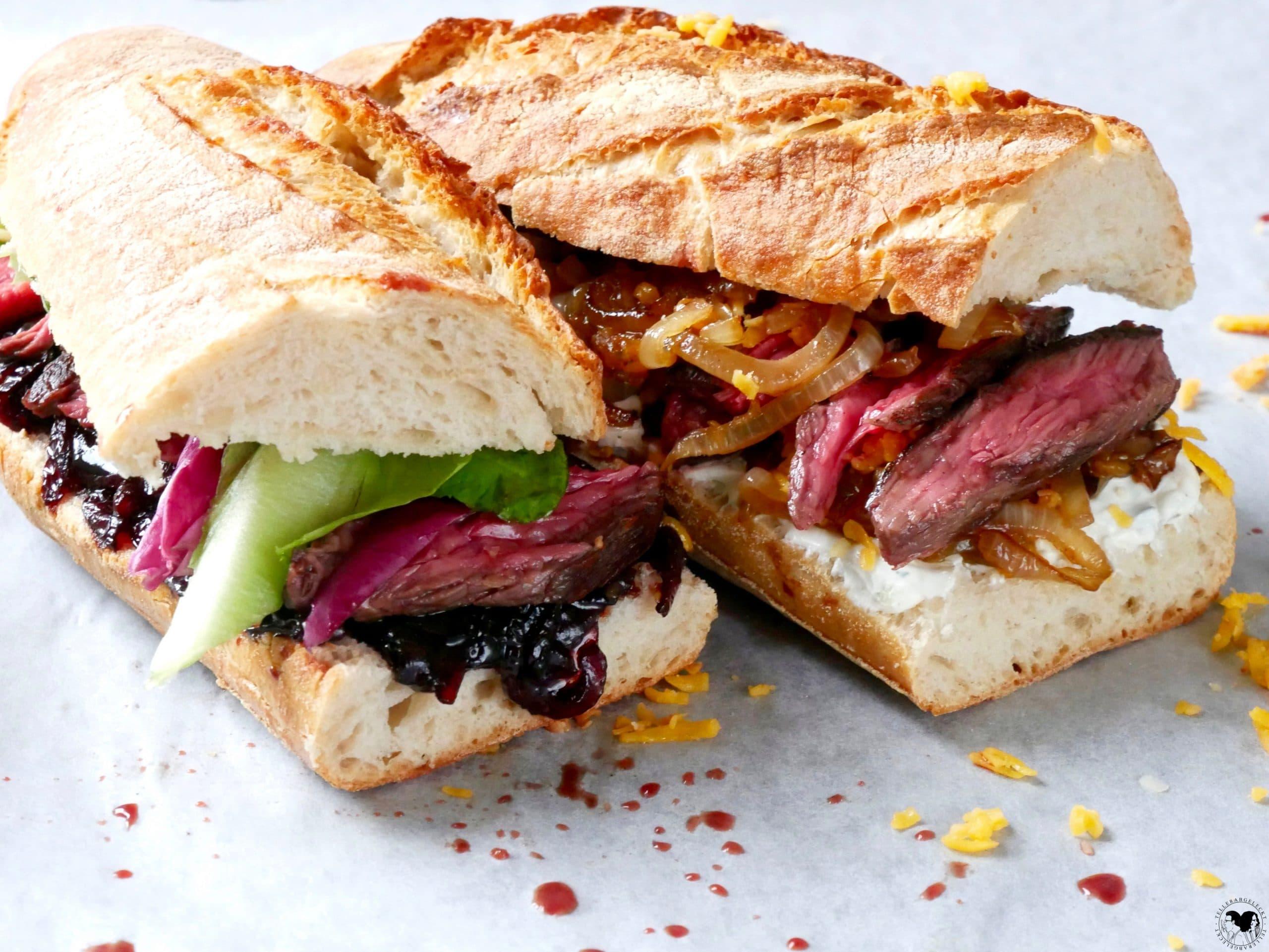 Steaksandwich-rotweinzwiebeln-schmorzwiebeln
