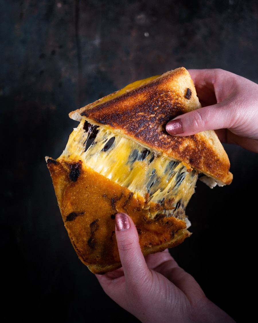 Grilled Cheese Bacon Jam